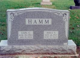 Rhea Thoman Hamm (1907-2000) - Find A Grave Memorial