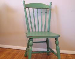 painted wood dining room chairs. custom painted distressed wood farm chair, vintage farmhouse dining room chairs m