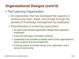 Organizational Design For Knowledge Management Organizational Structure And Design Ppt Download