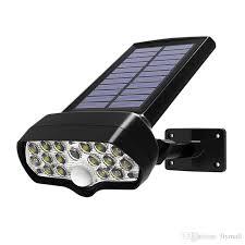 2019 <b>Shark LED Solar Light</b> PIR Motion Sensor Solar Lamp ...
