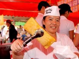 Resultado de imagem para pastel chinês