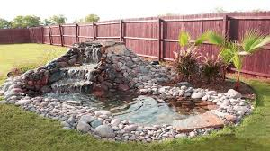 Beautiful Waterfall Ideas For Small Ponds Backyard Garden Modern Small Backyard Pond Waterfalls Ideas