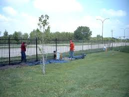 painting chain link fence iron fence painting chain link fence slats