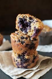 blueberry oat greek yogurt ins