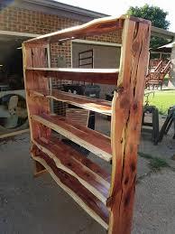 natural edge furniture. live edge wood bookshelf natural furniture a