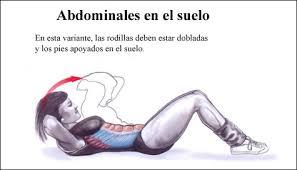 Ejercicio abdominal simple