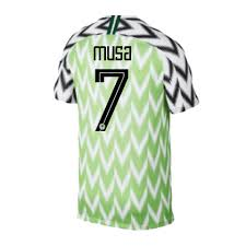 Jersey Cup 7 2018 Jersey Fifa Ahmed Nigeria Home Musa World
