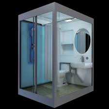 Shower Toilet Combo Space Saving Toilet And Sink Rv Shower Stall Combo Thetford About