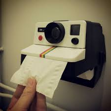 Polaroid Camera Design Tissue Box Polaroid Camera Toilet Paper Dispenser Toilet Paper