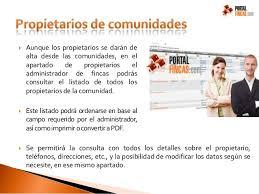 Administración De Fincas Online PortalfincasAdministrador De Fincas Online