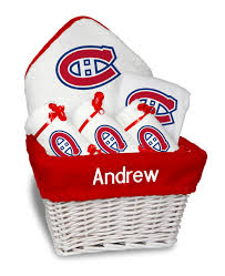personalized montreal canans um gift basket