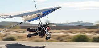 tandem hang glider flight
