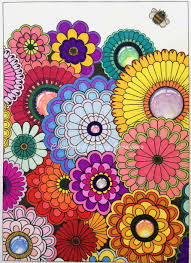 jb sg postcards flowers with gem centres