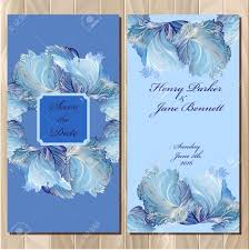 Wedding Invitation Background Blue Wedding Invitation Card With Frozen Glass Design Printable Backgrounds