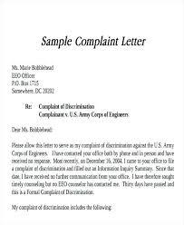 Formal Complaint Letters | Nfcnbarroom.com