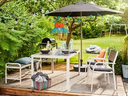 ikea outdoor patio furniture. Endearing Garden Patio Furniture 43 Ikea Sjalland Dark Grey Outdoor Table Chairs Bench 1364482347146 S5