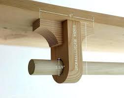closet pole support closet rod support bracket oval closet rod support brackets closet rod shelf support