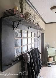 Door Hanging Coat Rack Impressive Fun Things To Do With Old Doors Coat Racks Doors And Shelves
