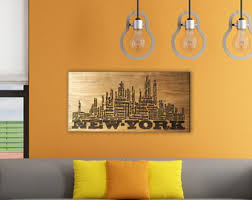 attractive design personalized wood wall art house interiors beautiful decoration designs new york city skyline on custom wood wall art decor with personalized wood wall art turbid fo