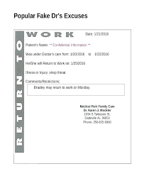 Dr Letter Template Doctor Note Templates Free Premium Fake Doctors Excuse