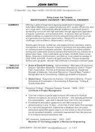 Resume Profile Template Industrial Engineer Resume Profile Rd Beauteous Industrial Engineer Resume