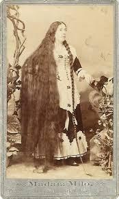 pioneer woman 1800s hair. madam milo queen of hair, length 6 ft 2 in, 1880\u0027s pioneer woman 1800s hair o