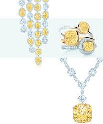 tiffany canary diamond jewelry