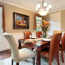 Oil Paintings for Dining Rooms traditional-dining-room
