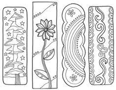 Small Picture Here are some fun color your own bookmarks Just color laminate