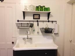 glass shelf above kitchen sink ideas dish rack above sink ideas