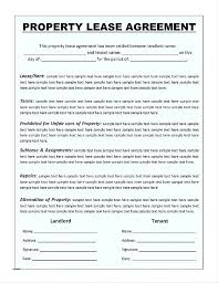 Hunting Rental And Lease Form Enchanting Farm Lease Agreement Template