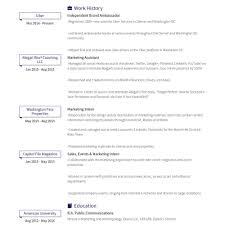 Ambassador Cv Basic Resume Template Resume Examples Corporate Ambassador Brand