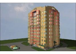 Диплом жилой дом можно купить у нас Низкие цены на дипломы  9 этажный жилой дом со встроенными нежилыми помещениями в г Чебоксары