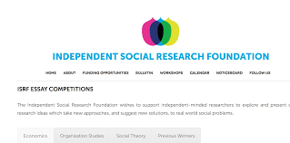 independent social research foundation essay competition armacad