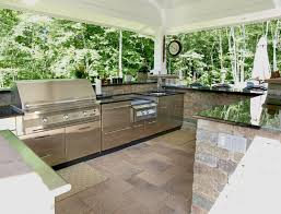 Small Outdoor Kitchen Island Simple Outdoor Kitchen Design Ideas With Island Bar Kitchen