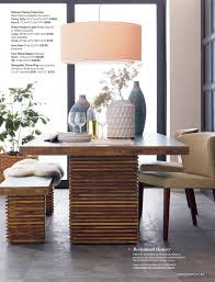 crate and barrel dakota dining table gallery round room tables