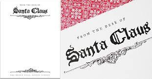 Free Santa Letterhead Template Exergames Info