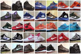 all lebron shoes list. nike air max lebron vii unreleased pes samples collection »; shoes all list cardboard connection