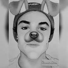drawing of ethan dolan