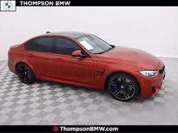 certified pre owned 2017 bmw m3 for