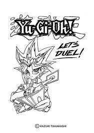 Small Picture Lets duel yu gi oh coloring pages Hellokidscom