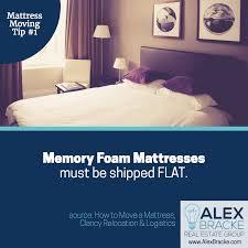 mattress moving tip 1 memory foam