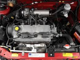 2001 Chevrolet Metro LSi 1.3 Liter SOHC 16-Valve 4 Cylinder Engine ...