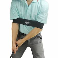 Details About Golf Swing Trainer Aid Armband Practicing Guide Golf Posture Corrector Belt
