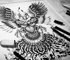 Phoenix Drawing By Sneaky Studios No 2228