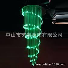 fiber optic chandelier fibre lighting plastic optical and fine workmanship lamp wireless ceil fiber optic chandelier