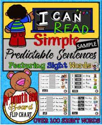 Predictable Charts Kindergarten