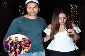 Varun Dhawan hosts girlfriend Natasha ...