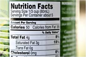 Image result for pictures of food nutrition labels