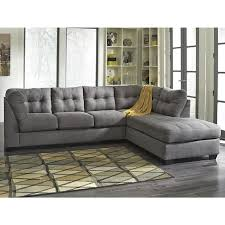 maier 2 piece sectional in charcoal